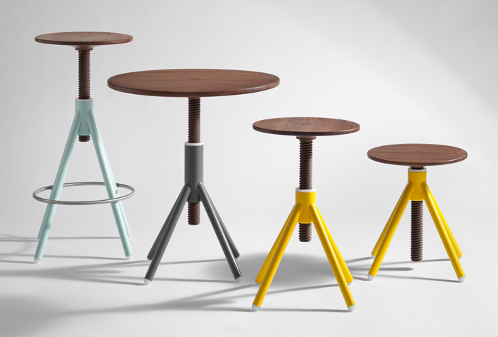Thread stool family by Coordination
